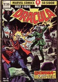 Cover Thumbnail for Dracula (Red Clown, 1974 series) #3/1975