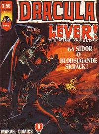Cover Thumbnail for Dracula lever (Red Clown, 1974 series) #1/1974