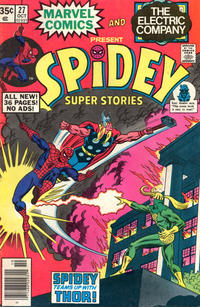 Cover Thumbnail for Spidey Super Stories (Marvel, 1974 series) #27