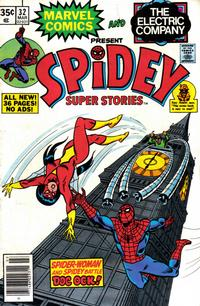 Cover Thumbnail for Spidey Super Stories (Marvel, 1974 series) #32