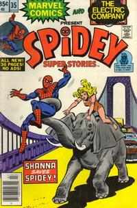 Cover Thumbnail for Spidey Super Stories (Marvel, 1974 series) #35