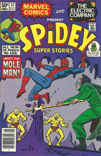 Cover Thumbnail for Spidey Super Stories (Marvel, 1974 series) #52