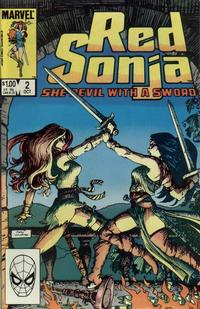 Cover Thumbnail for Red Sonja (Marvel, 1983 series) #2 [Direct]