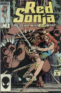 Cover Thumbnail for Red Sonja (Marvel, 1983 series) #8 [Direct]