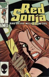 Cover Thumbnail for Red Sonja (Marvel, 1983 series) #13