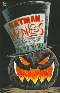 Cover Thumbnail for Batman: Madness A Legends of the Dark Knight Halloween Special (DC, 1994 series)
