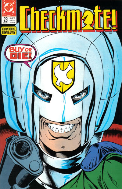 Cover for Checkmate (DC, 1988 series) #23