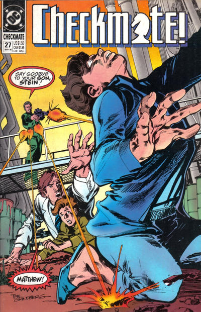 Cover for Checkmate (DC, 1988 series) #27