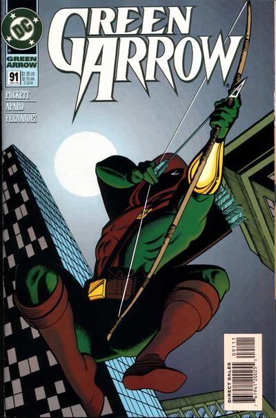 Cover for Green Arrow (DC, 1988 series) #91