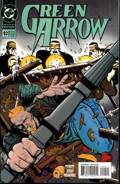 Cover for Green Arrow (DC, 1988 series) #92