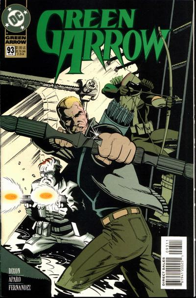 Cover for Green Arrow (DC, 1988 series) #93