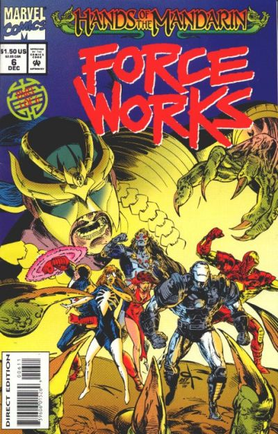Cover for Force Works (Marvel, 1994 series) #6 [Direct Edition]