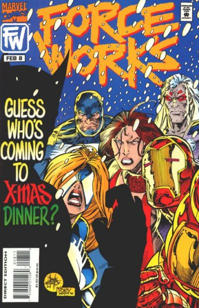 Cover for Force Works (Marvel, 1994 series) #8 [Newsstand]