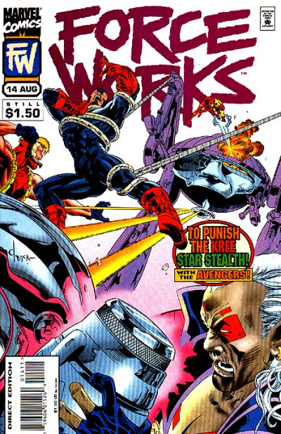 Cover for Force Works (Marvel, 1994 series) #14
