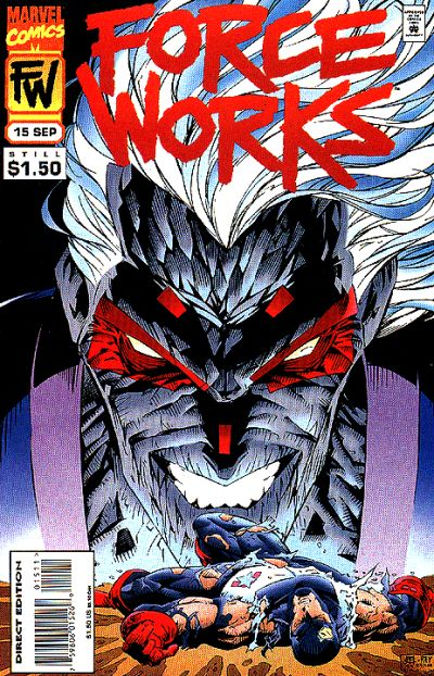 Cover for Force Works (Marvel, 1994 series) #15