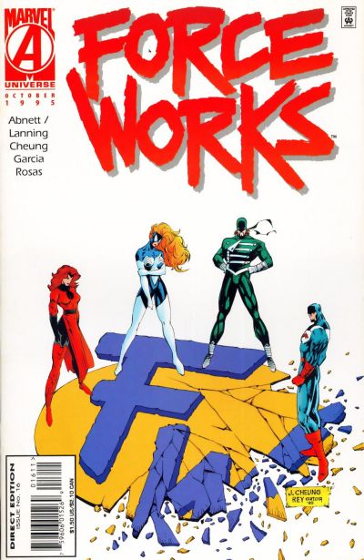 Cover for Force Works (Marvel, 1994 series) #16