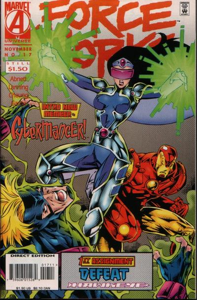 Cover for Force Works (Marvel, 1994 series) #17