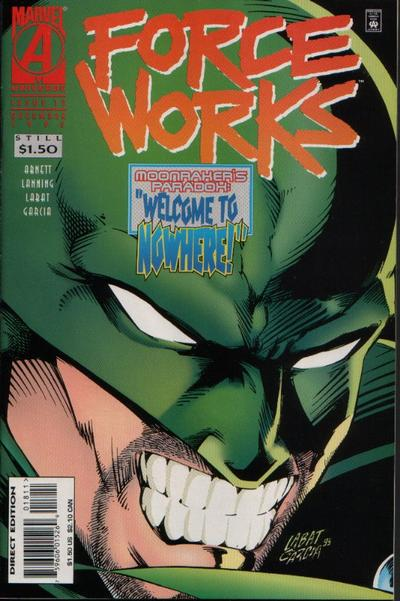 Cover for Force Works (Marvel, 1994 series) #18
