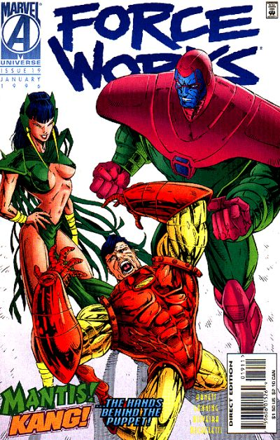 Cover for Force Works (Marvel, 1994 series) #19