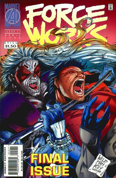 Cover for Force Works (Marvel, 1994 series) #22