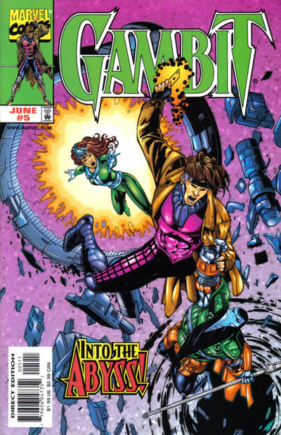 Cover for Gambit (Marvel, 1999 series) #5 [Direct Edition]