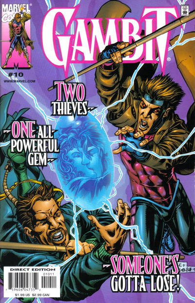 Cover for Gambit (Marvel, 1999 series) #10