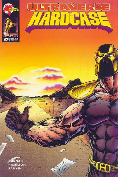 Cover for Hardcase (Malibu, 1993 series) #21