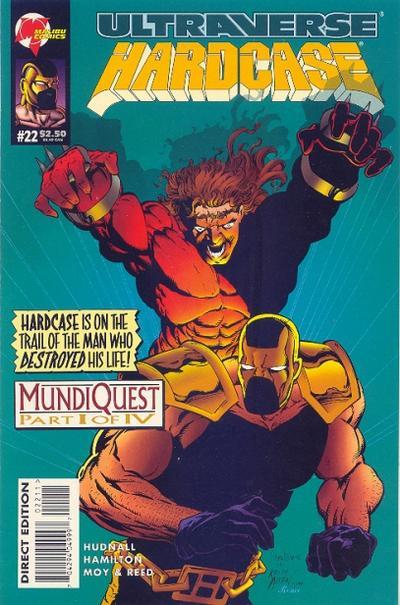 Cover for Hardcase (Malibu, 1993 series) #22