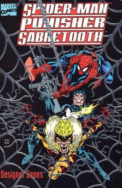 Cover for Spider-Man, Punisher, Sabretooth: Designer Genes (Marvel, 1993 series)