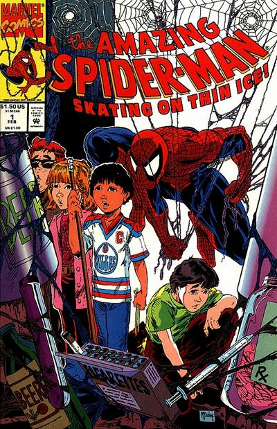 Cover for The Amazing Spider-Man: Skating on Thin Ice (Marvel, 1993 series) #1