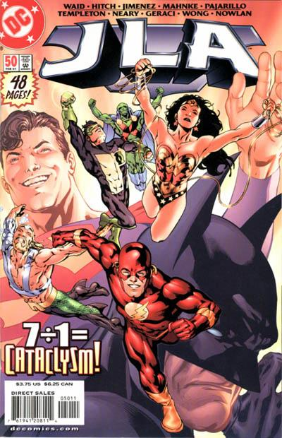 Cover for JLA (DC, 1997 series) #50