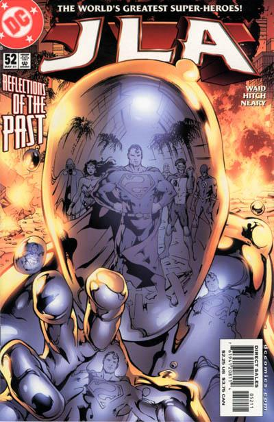 Cover for JLA (DC, 1997 series) #52
