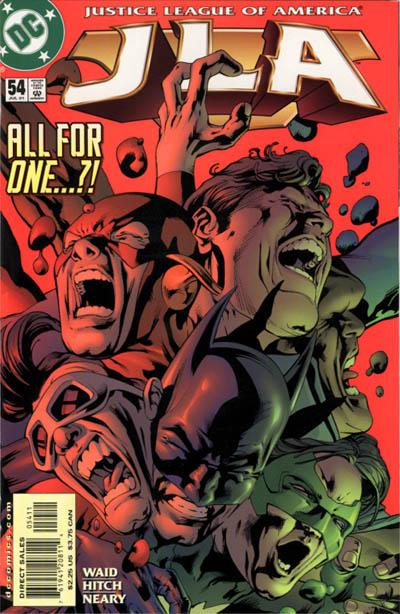 Cover for JLA (DC, 1997 series) #54