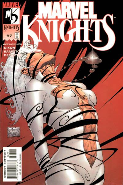 Cover for Marvel Knights (Marvel, 2000 series) #7