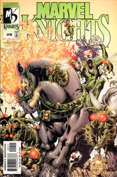 Cover for Marvel Knights (Marvel, 2000 series) #9 [Direct Edition]