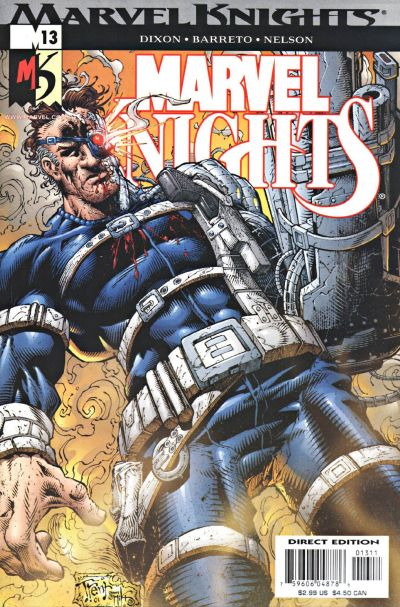 Cover for Marvel Knights (Marvel, 2000 series) #13 [Newsstand]