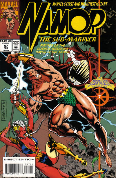 Cover for Namor, the Sub-Mariner (Marvel, 1990 series) #47