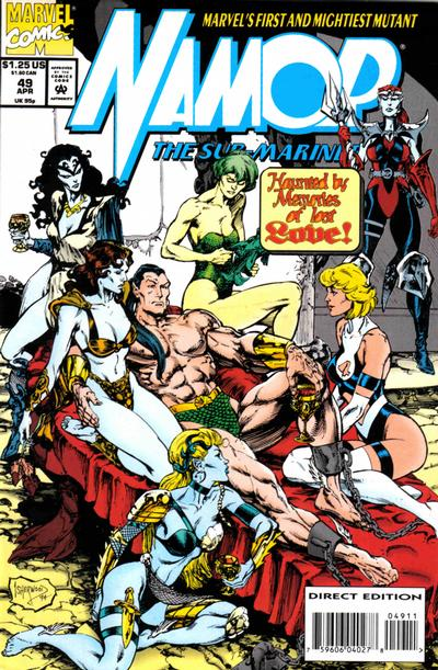 Cover for Namor, the Sub-Mariner (Marvel, 1990 series) #49