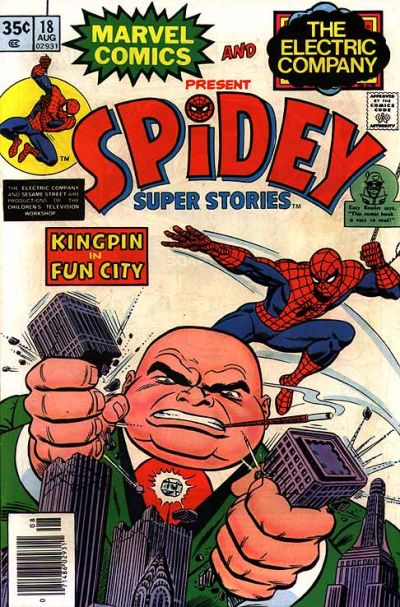 Cover for Spidey Super Stories (Marvel, 1974 series) #18