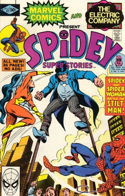 Cover for Spidey Super Stories (Marvel, 1974 series) #47