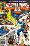 Cover for Secret Wars II (Marvel, 1985 series) #4 [Newsstand]
