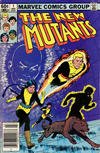 Cover for The New Mutants (Marvel, 1983 series) #1 [Newsstand]