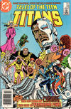 Cover for Tales of the Teen Titans (DC, 1984 series) #58 [Newsstand Edition]