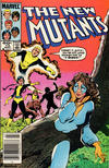 Cover for The New Mutants (Marvel, 1983 series) #13 [Newsstand]