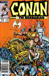 Cover for Conan the Barbarian (Marvel, 1970 series) #173 [Newsstand]