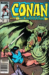 Cover Thumbnail for Conan the Barbarian (1970 series) #166 [Newsstand Edition]