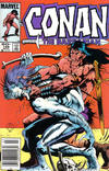 Cover for Conan the Barbarian (Marvel, 1970 series) #168 [Newsstand]