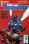 Cover for Blue Beetle (DC, 2011 series) #5