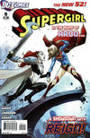 Cover for Supergirl (DC, 2011 series) #5 [Direct Sales]