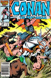 Cover for Conan the Barbarian (Marvel, 1970 series) #182 [Newsstand]